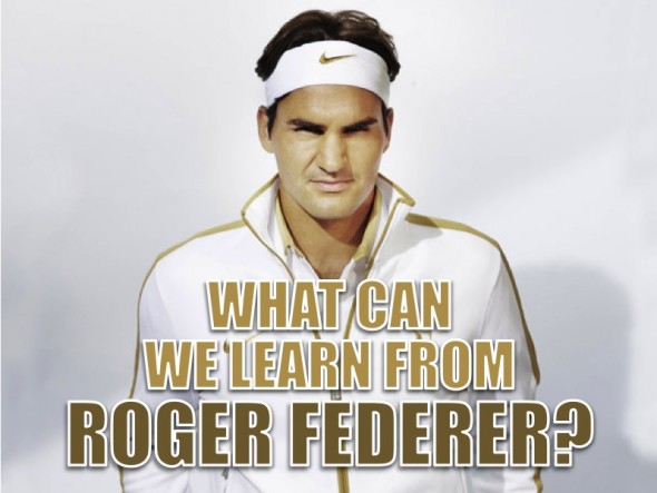 HOW TO PRESENT LIKE ROGER FEDERER